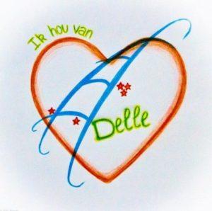 logo Ik hou van Delle